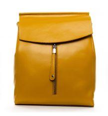 Сумка Женская Рюкзак кожа ALEX RAI 1-06 3206 yellow