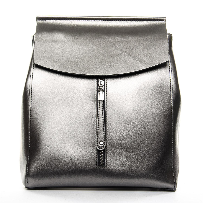 Сумка Женская Рюкзак кожа ALEX RAI 1-06 3206 light-grey