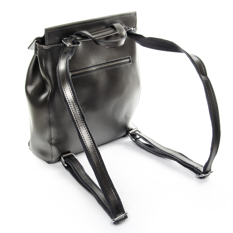 Сумка Женская Рюкзак кожа ALEX RAI 1-06 3206 light-grey - фото 4