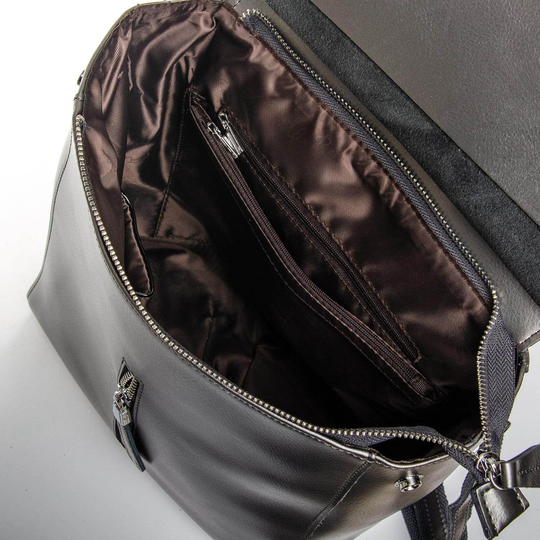 Сумка Женская Рюкзак кожа ALEX RAI 1-06 3206 light-grey - фото 5