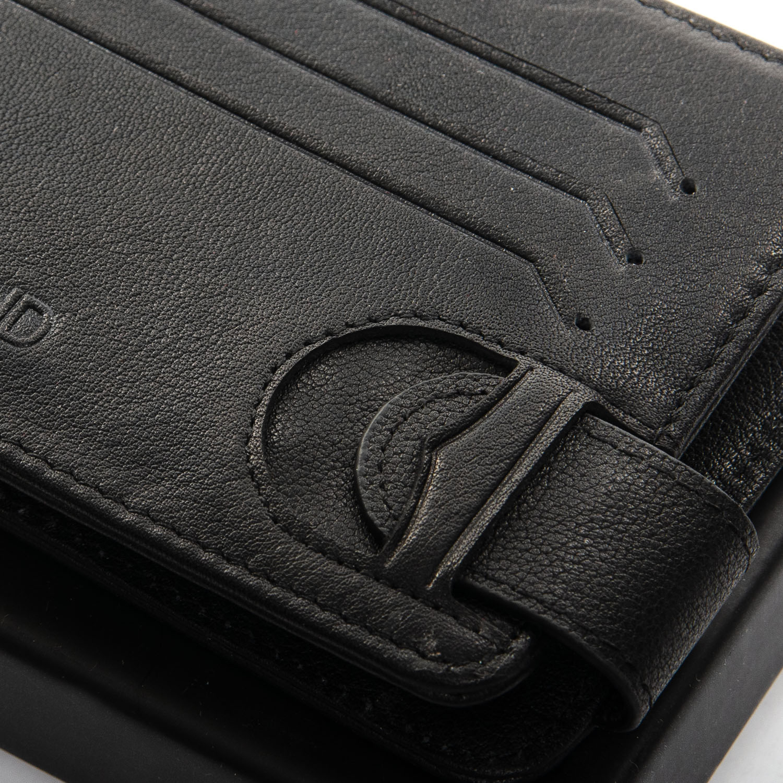 Кошелек Classic кожа DR. BOND MZS-4 black - фото 3