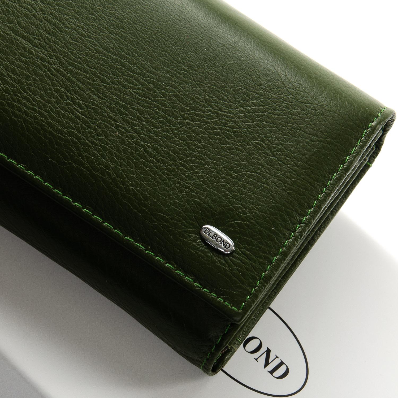 Кошелек Classic кожа DR. BOND W46-2 dark-green - фото 3