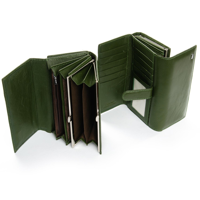 Кошелек Classic кожа DR. BOND W46-2 dark-green - фото 4