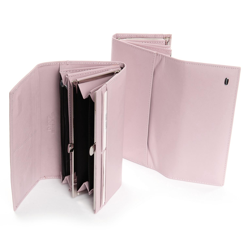 Кошелек Classic кожа DR. BOND W1-V-2 pink - фото 4