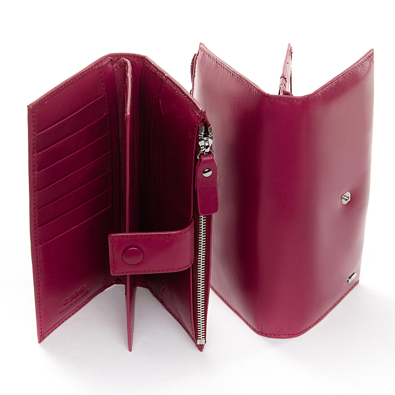 Кошелек Classic кожа DR. BOND WMB-1 purple-red - фото 4