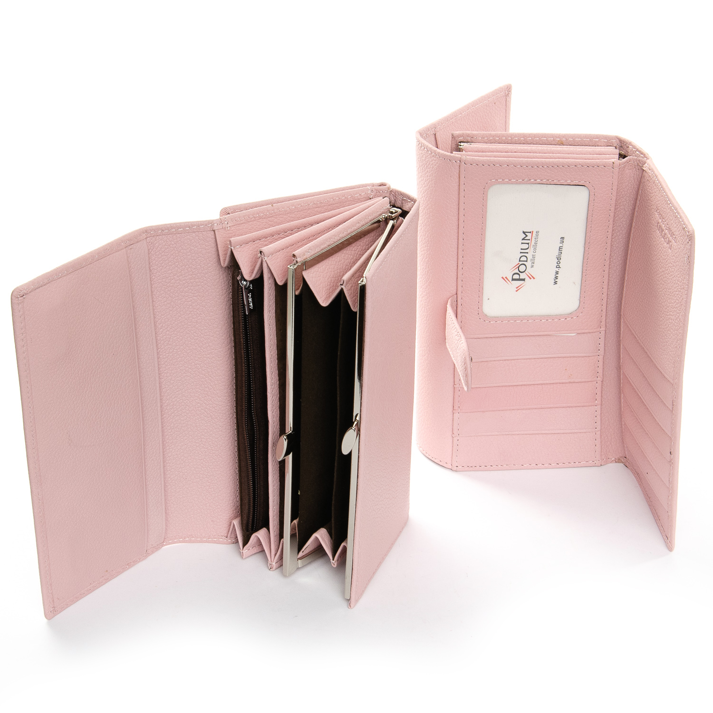 Кошелек Classic кожа DR. BOND W46-2 pink - фото 4