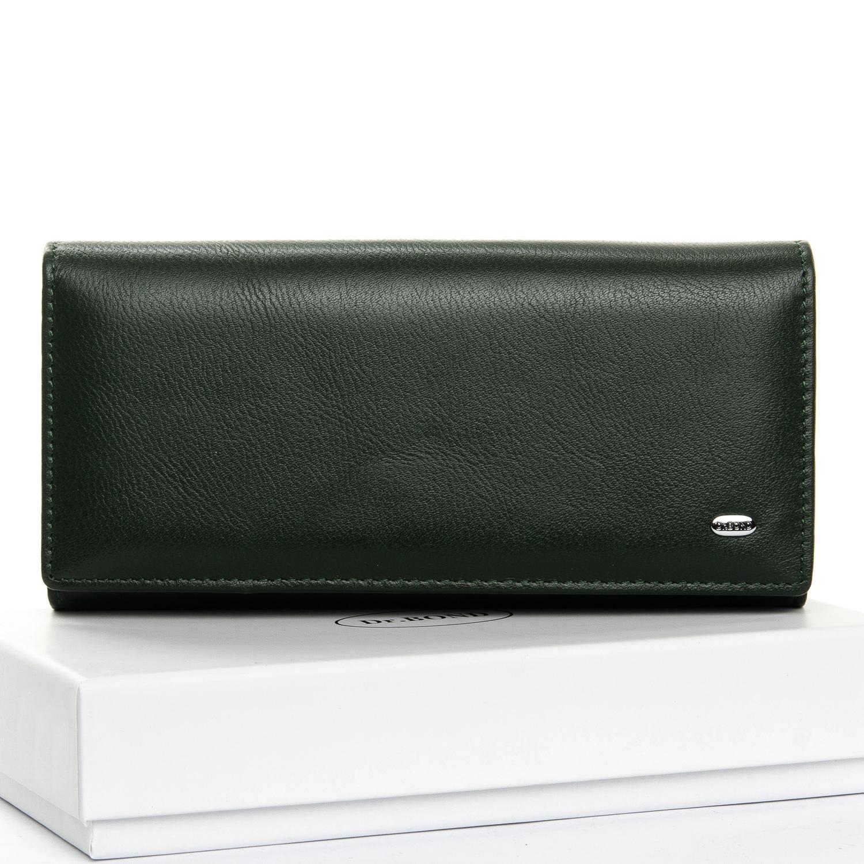 Кошелек Classic кожа DR. BOND W1-V-2 dark-green
