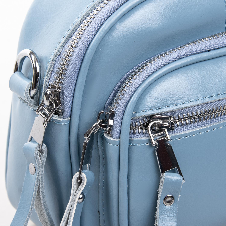 Сумка Женская Клатч кожа ALEX RAI 2-01 8802 light-blue - фото 3