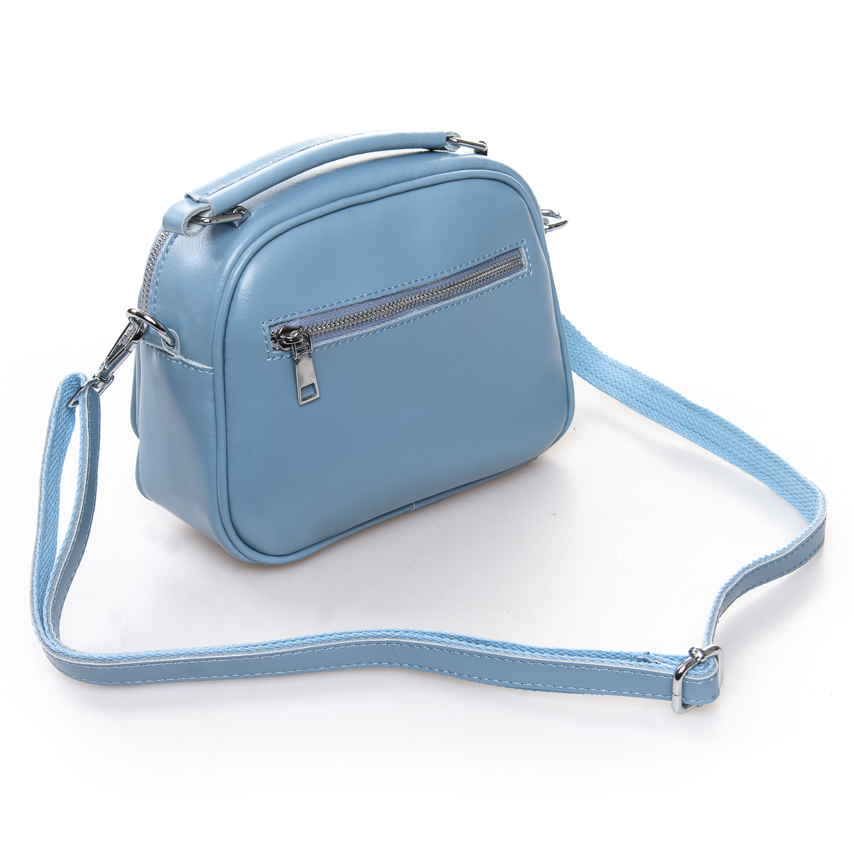 Сумка Женская Клатч кожа ALEX RAI 2-01 8802 light-blue - фото 4