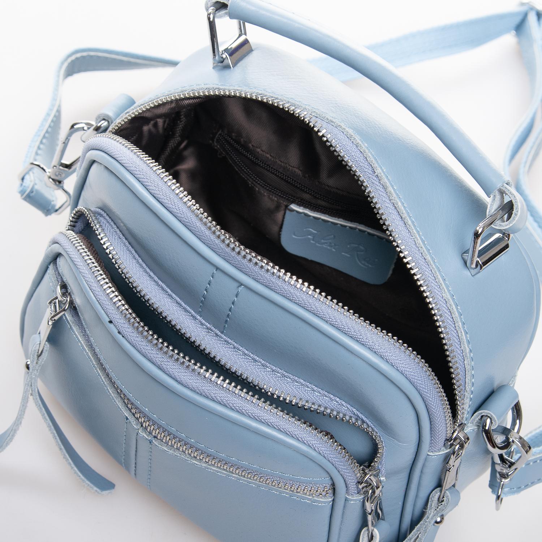 Сумка Женская Клатч кожа ALEX RAI 2-01 8802 light-blue - фото 5