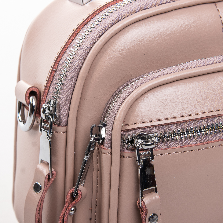 Сумка Женская Клатч кожа ALEX RAI 2-01 8802 pink - фото 3