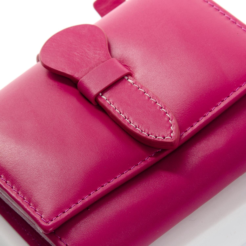 Кошелек Classic кожа DR. BOND WS-21 purple-red - фото 3