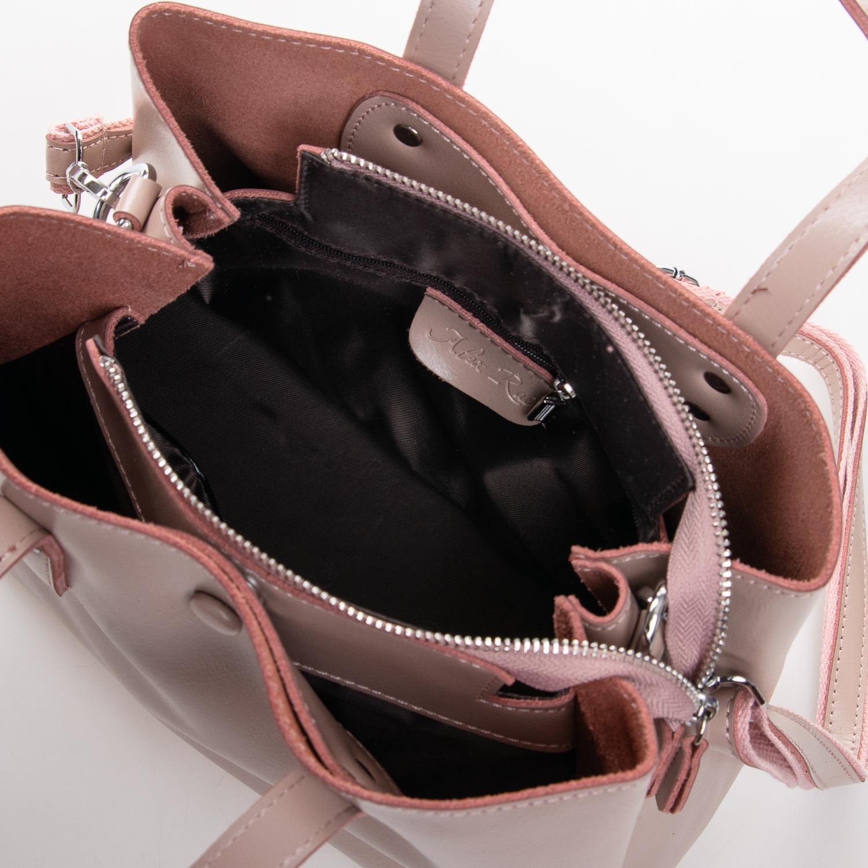 Сумка Женская Классическая кожа ALEX RAI 2-02 349 pink - фото 5