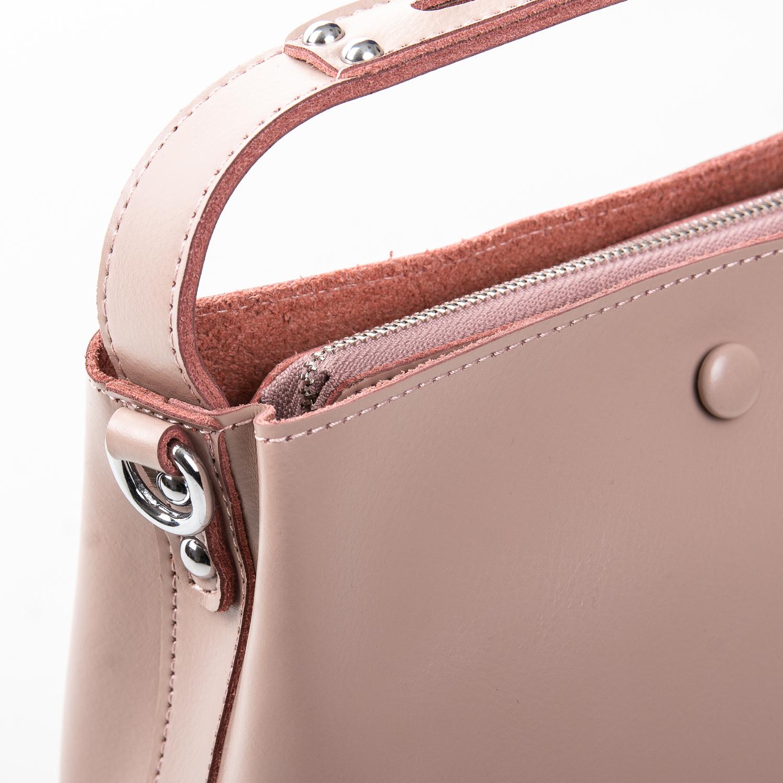 Сумка Женская Классическая кожа ALEX RAI 2-02 8702 pink - фото 3