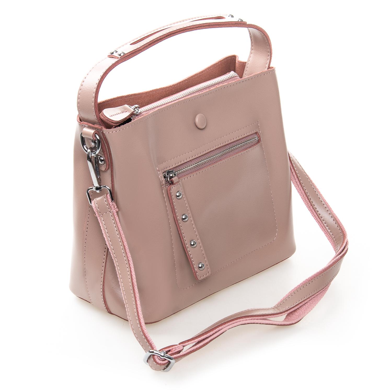 Сумка Женская Классическая кожа ALEX RAI 2-02 8702 pink - фото 4