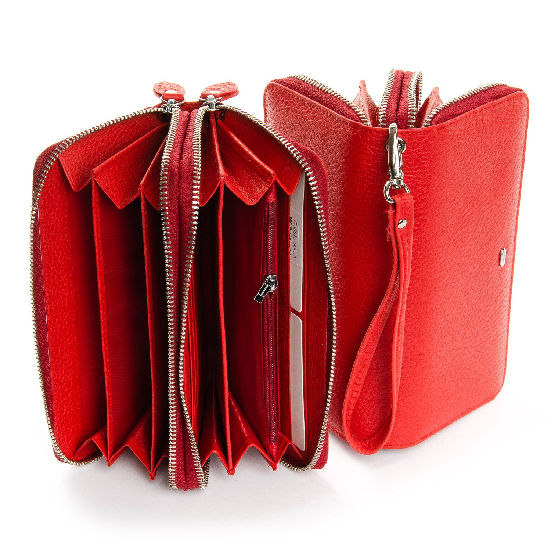 Кошелек Classic кожа DR. BOND W39-3 red - фото 4