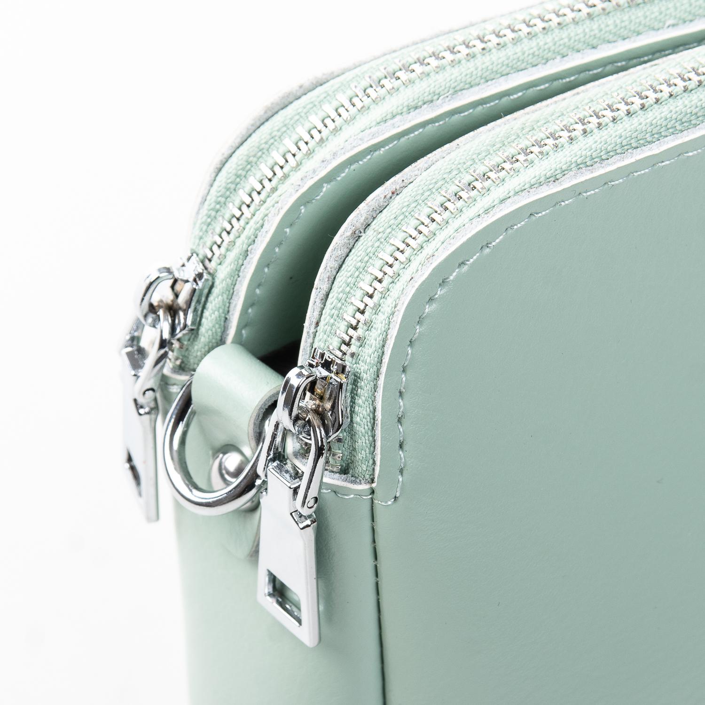 Сумка Женская Клатч кожа ALEX RAI 2-01 8701 light-green - фото 3