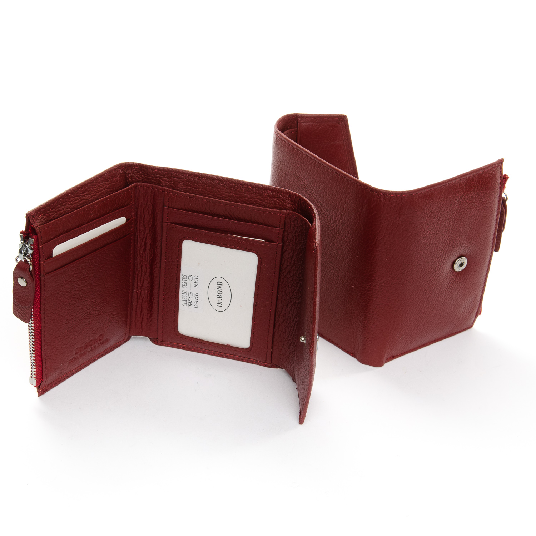 Кошелек Classic кожа DR. BOND WS-3 dark-red - фото 4