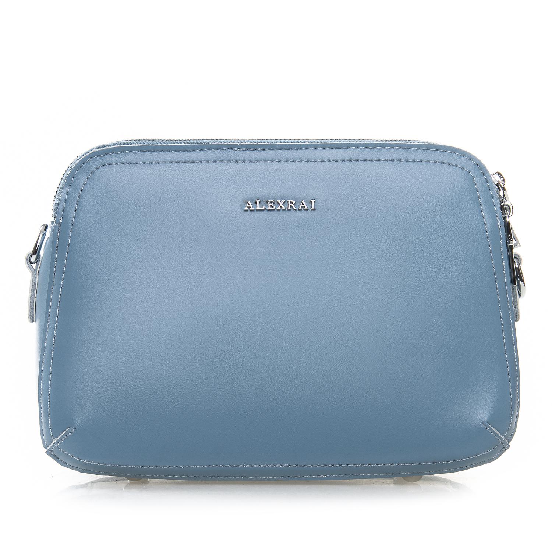Сумка Женская Клатч кожа ALEX RAI 2-01 8725 blue