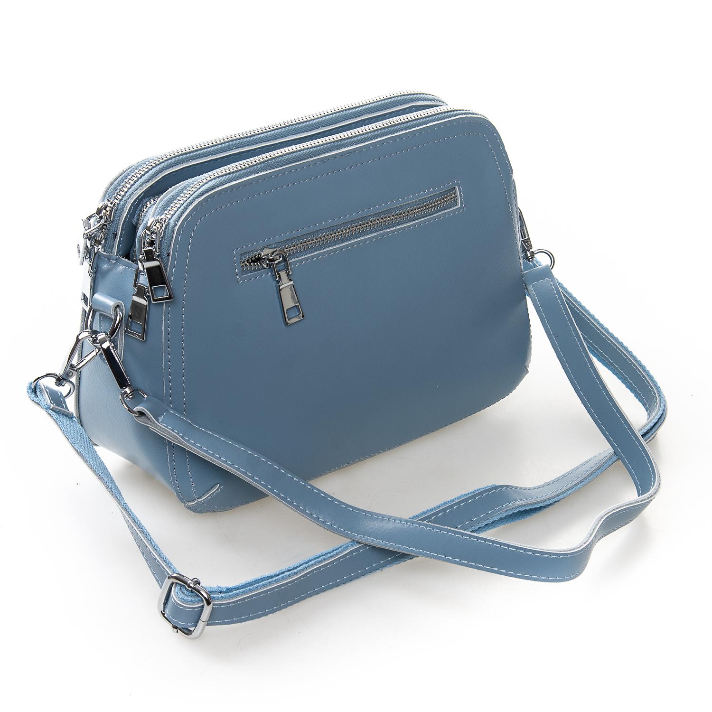 Сумка Женская Клатч кожа ALEX RAI 2-01 8725 blue - фото 4