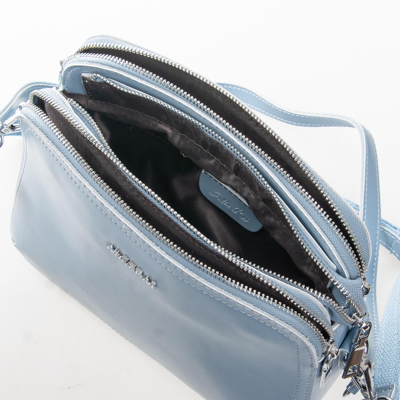 Сумка Женская Клатч кожа ALEX RAI 2-01 8725 blue - фото 5