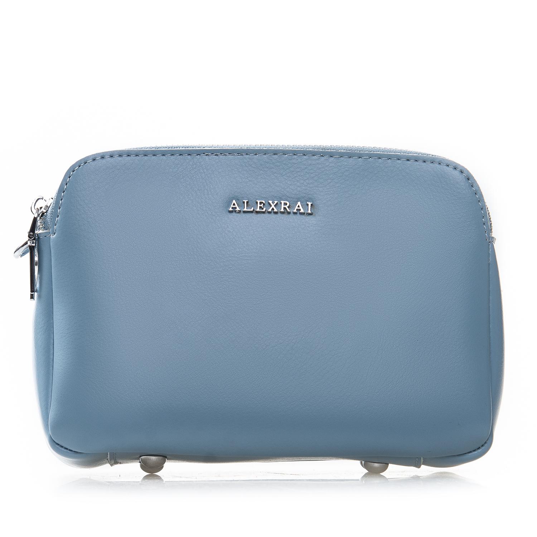 Сумка Женская Клатч кожа ALEX RAI 2-01 8701 light-blue