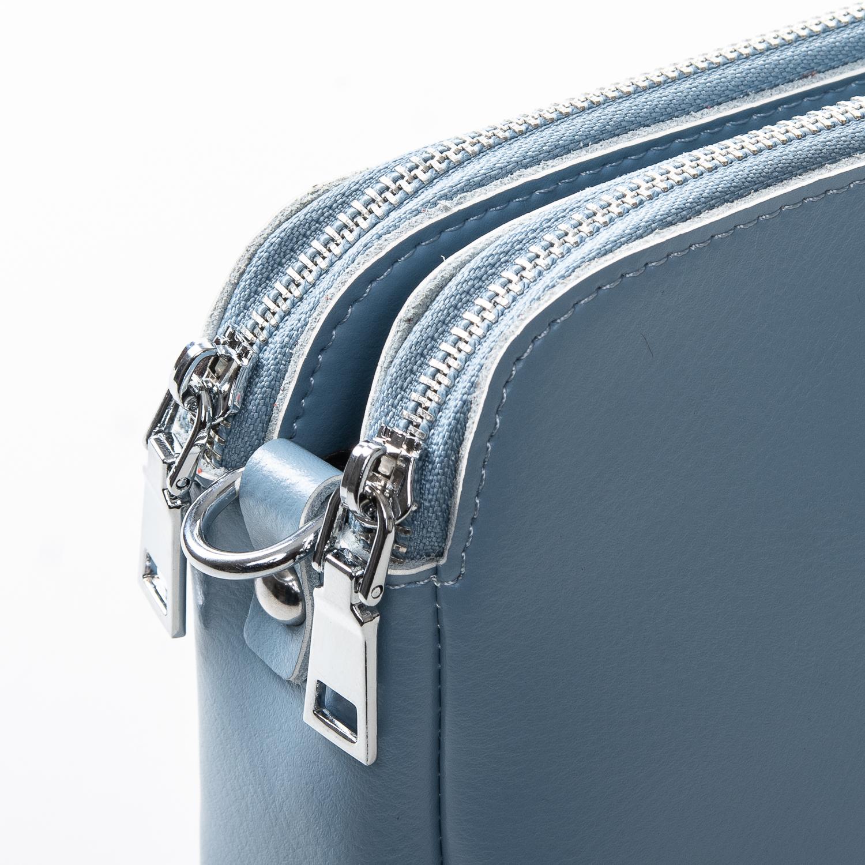 Сумка Женская Клатч кожа ALEX RAI 2-01 8701 light-blue - фото 3