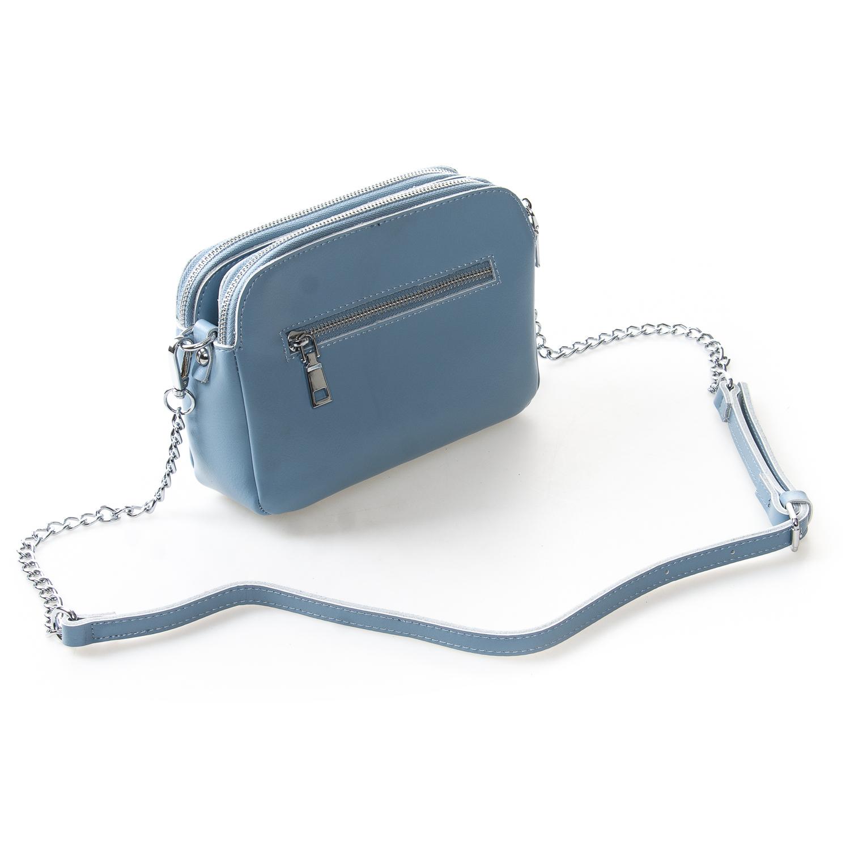 Сумка Женская Клатч кожа ALEX RAI 2-01 8701 light-blue - фото 4