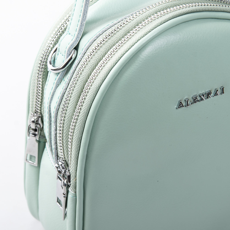 Сумка Женская Клатч кожа ALEX RAI 2-01 2228 green - фото 3