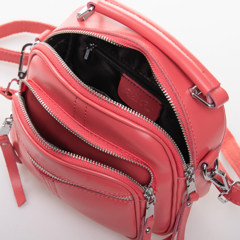 Сумка Женская Клатч кожа ALEX RAI 2-01 8802 watermelon red - фото 4