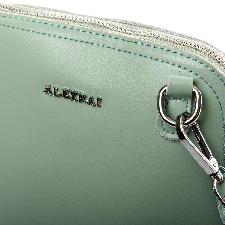 Сумка Женская Клатч кожа ALEX RAI 2-01 8803 light-green - фото 3