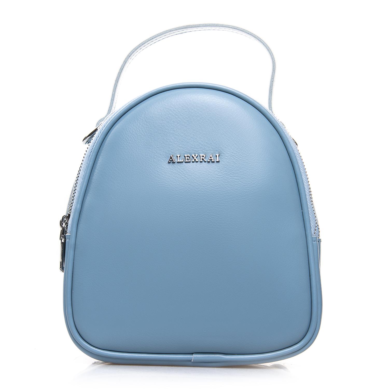 Сумка Женская Клатч кожа ALEX RAI 2-01 2228 light-blue