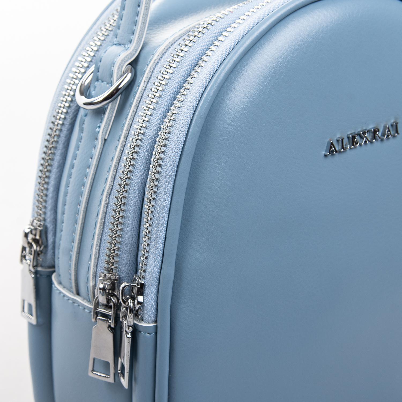 Сумка Женская Клатч кожа ALEX RAI 2-01 2228 light-blue - фото 3