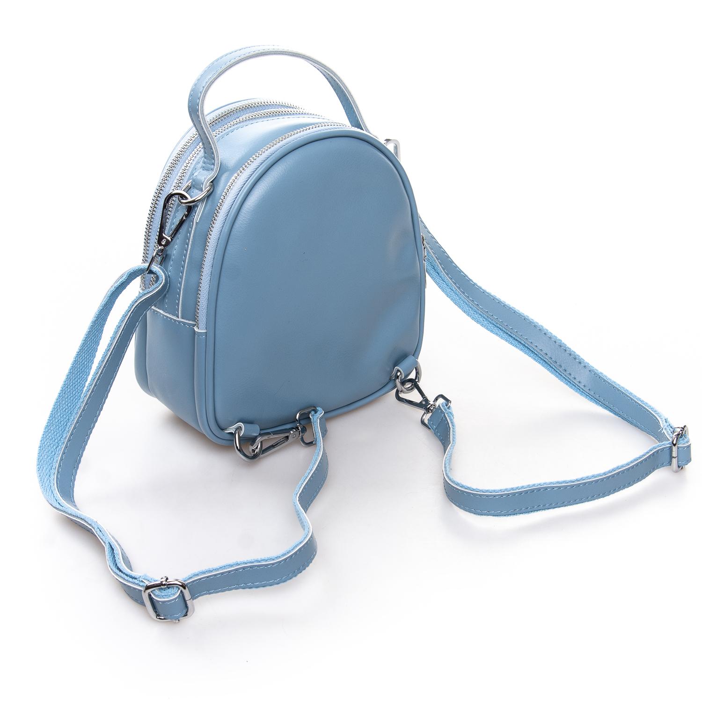 Сумка Женская Клатч кожа ALEX RAI 2-01 2228 light-blue - фото 4