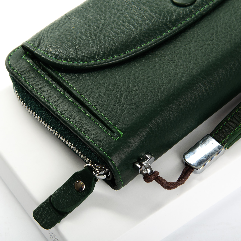 Кошелек Classic кожа DR. BOND WS-22 dark-green - фото 3