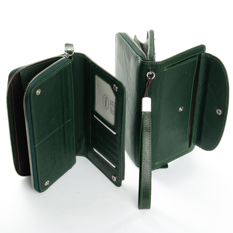 Кошелек Classic кожа DR. BOND WS-22 dark-green - фото 4