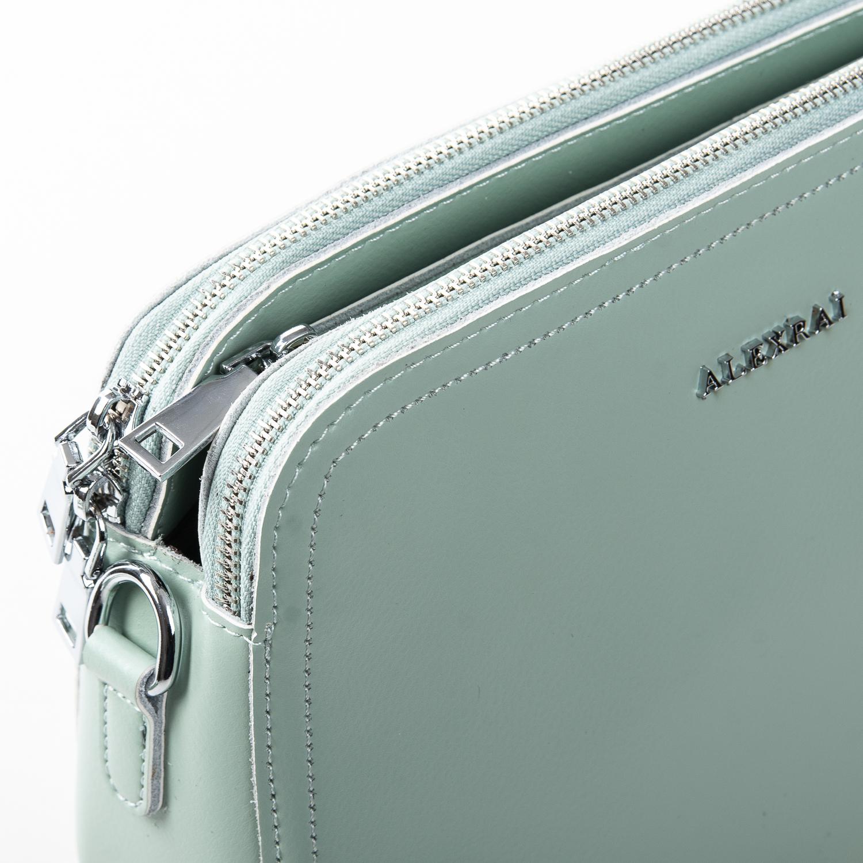Сумка Женская Клатч кожа ALEX RAI 2-01 8725 green - фото 3