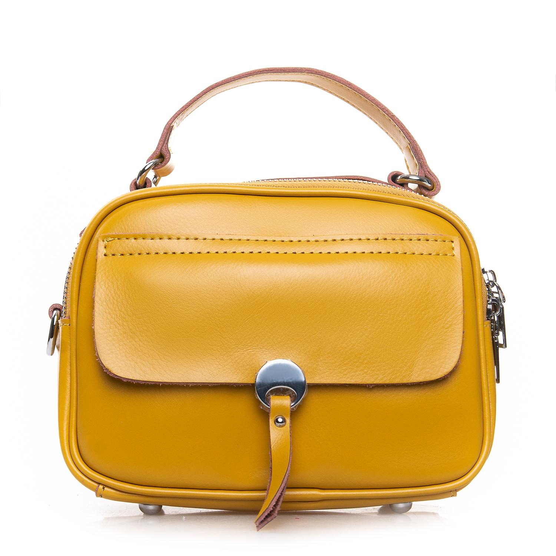 Сумка Женская Клатч кожа ALEX RAI 2-01 8646 yellow