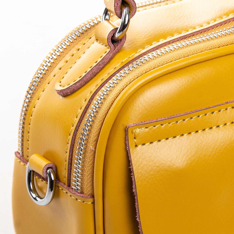 Сумка Женская Клатч кожа ALEX RAI 2-01 8646 yellow - фото 3