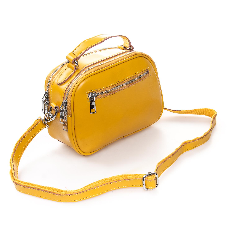 Сумка Женская Клатч кожа ALEX RAI 2-01 8646 yellow - фото 4