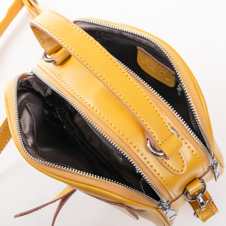 Сумка Женская Клатч кожа ALEX RAI 2-01 8646 yellow - фото 5