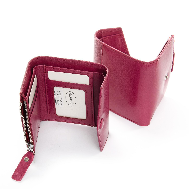 Кошелек Classic кожа DR. BOND WS-20 purple-red - фото 4