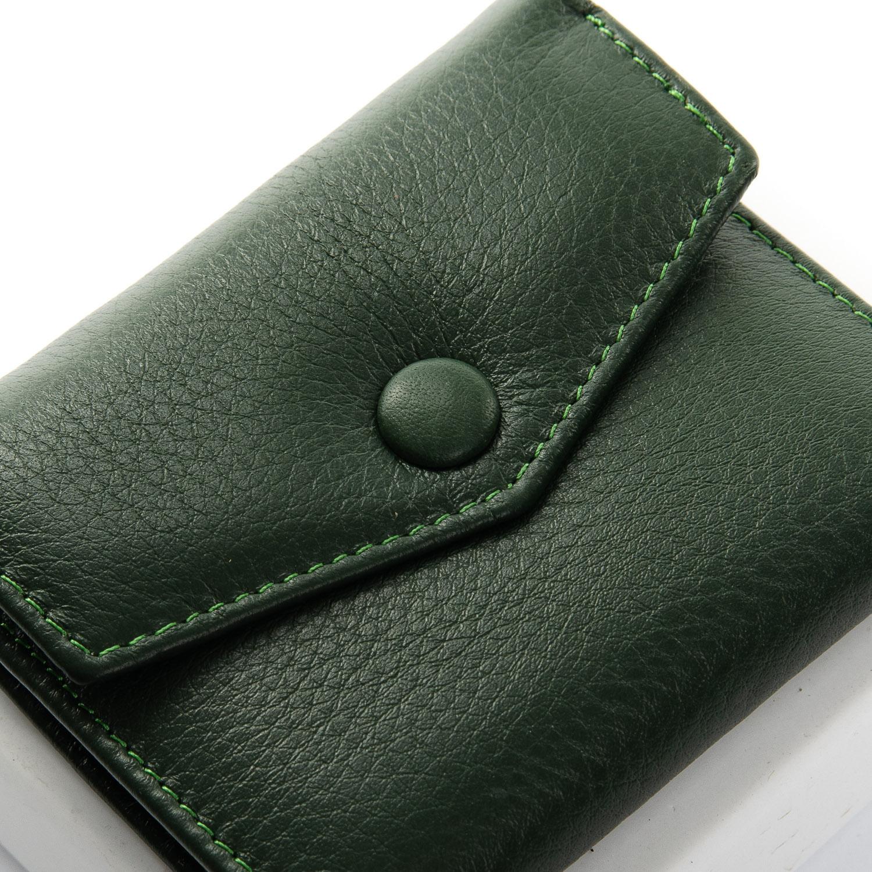 Кошелек Classic кожа DR. BOND WS-20 dark-green - фото 3