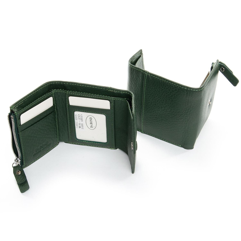 Кошелек Classic кожа DR. BOND WS-20 dark-green - фото 4