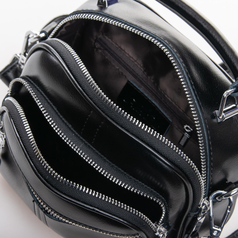 Сумка Женская Клатч кожа ALEX RAI 2-01 8802 black - фото 5