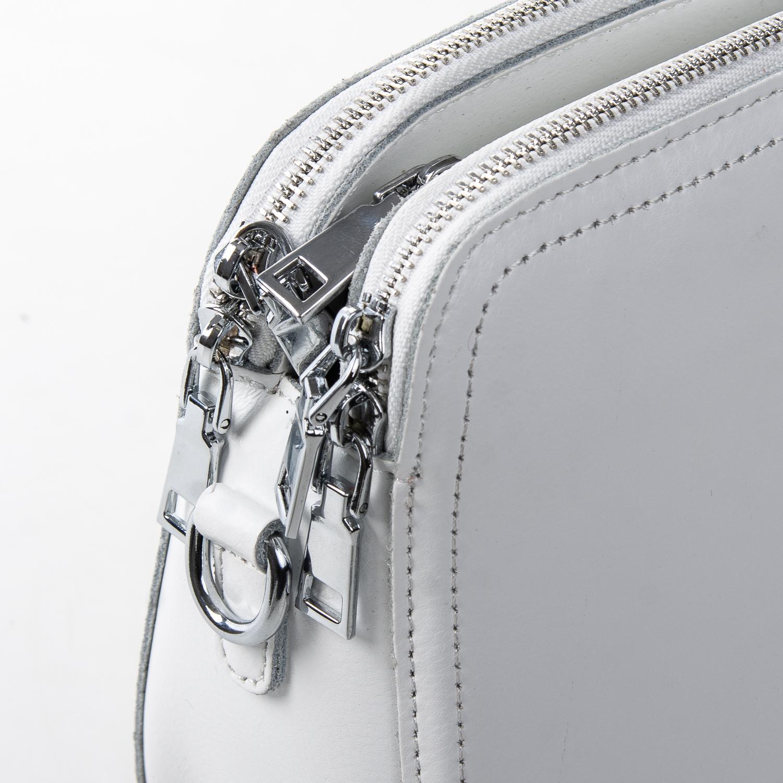 Сумка Женская Клатч кожа ALEX RAI 2-01 8725 white - фото 3