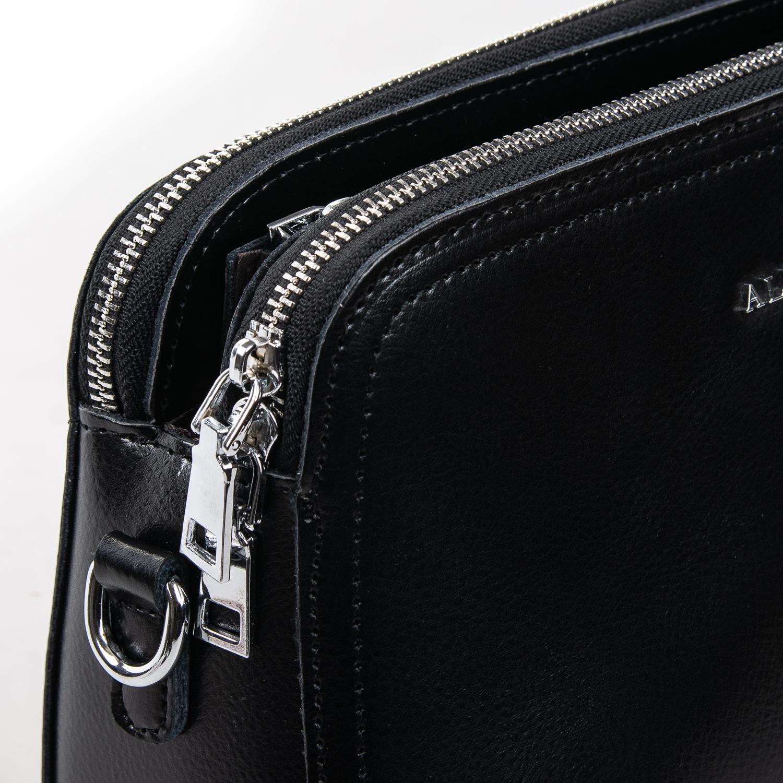 Сумка Женская Клатч кожа ALEX RAI 2-01 8725 black - фото 3