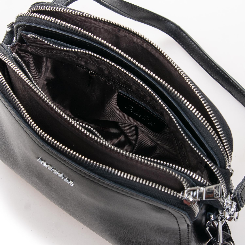 Сумка Женская Клатч кожа ALEX RAI 2-01 8725 black - фото 5