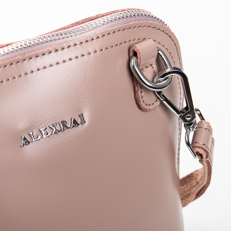 Сумка Женская Клатч кожа ALEX RAI 2-01 8803 pink - фото 3