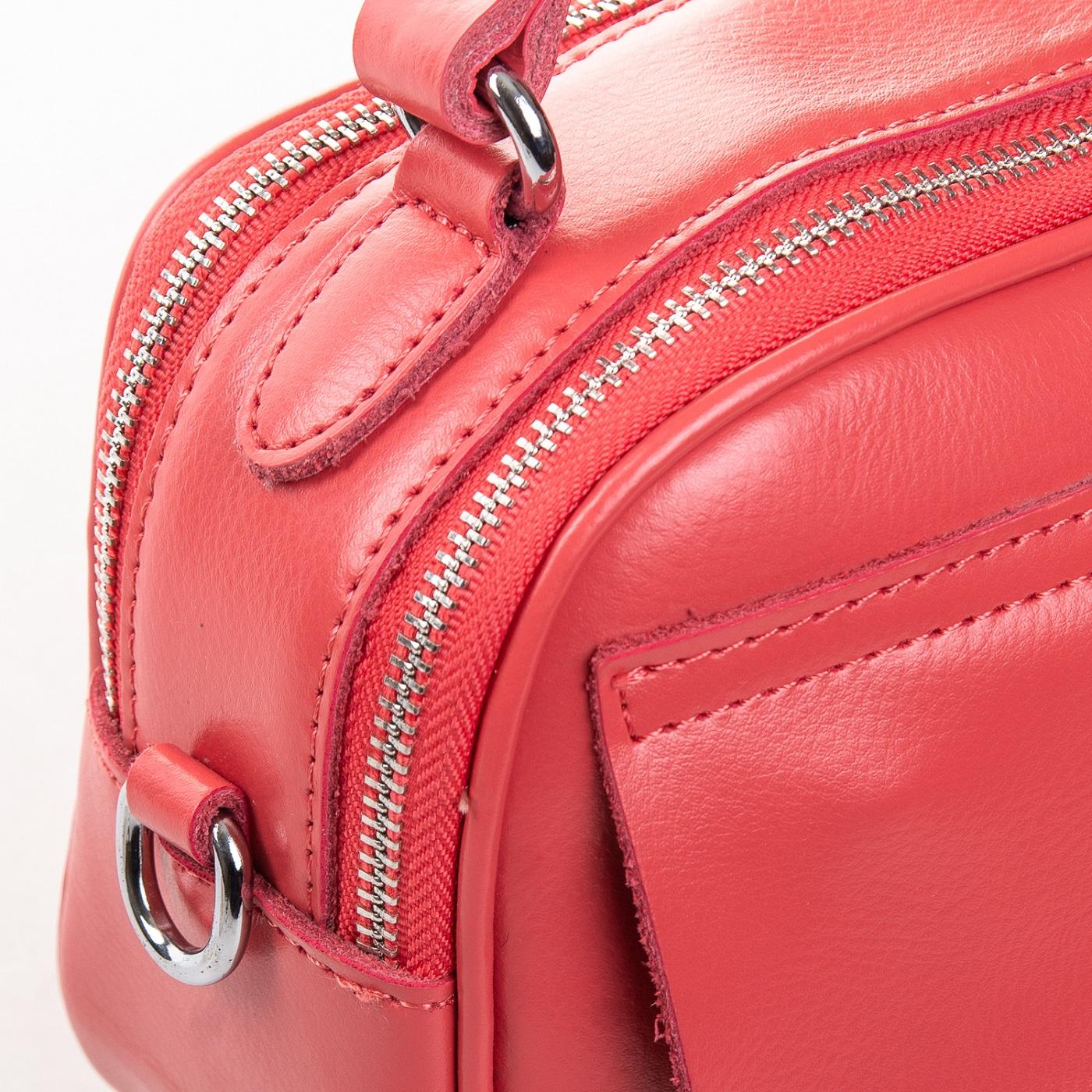 Сумка Женская Клатч кожа ALEX RAI 2-01 8646 watermelon red - фото 5
